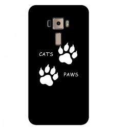 """Чехол для Asus с принтом """"Cats Paws"""""""