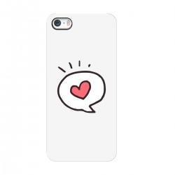 """Чехол для Apple iPhone с принтом """"Любовное сообщение"""""""