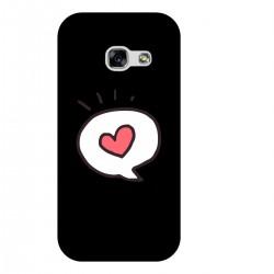 """Чехол для Samsung с принтом """"Любовное сообщение"""""""