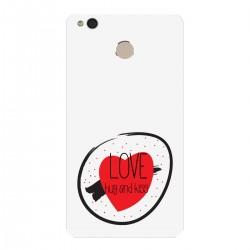 """Чехол для Xiaomi с принтом """"Love, hug and kiss"""""""