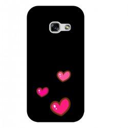 """Чехол для Samsung с принтом """"Милые розовые сердечки"""""""