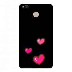 """Чехол для Xiaomi с принтом """"Милые розовые сердечки"""""""