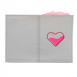"""Обложка на паспорт с принтом """"Наполненное сердце"""""""