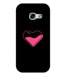 """Чехол для Samsung с принтом """"Наполненное сердце"""""""