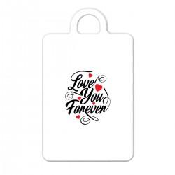 """Брелок с принтом """"Love You Forever"""""""