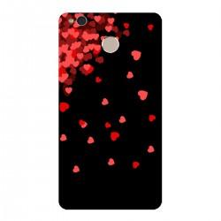 """Чехол для Xiaomi с принтом """"Дождь из сердечек"""""""