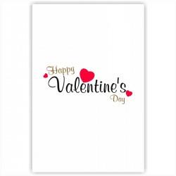 """Холст с принтом """"Happy Valentine Day"""" (20x30cм)"""