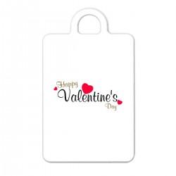 """Брелок с принтом """"Happy Valentine Day"""""""