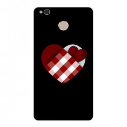 """Чехол для Xiaomi с принтом """"Клетчатое сердце"""""""
