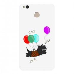 """Чехол для Xiaomi с принтом """"Скотч-терьер и воздушные шары"""""""