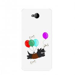 """Чехол для Microsoft с принтом """"Скотч-терьер и воздушные шары"""""""
