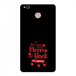 """Чехол для Xiaomi с принтом """"Moon and Back"""""""