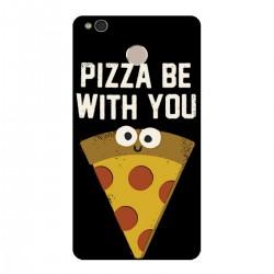 """Чехол для Xiaomi с принтом """"Да пребудет с тобой пицца!"""""""