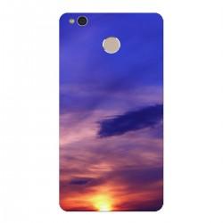 """Чехол для Xiaomi с принтом """"Пролитая на закате краска"""""""