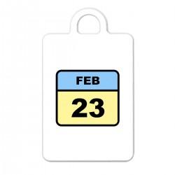 """Брелок с принтом """"23 февраля"""""""
