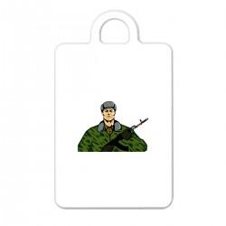 """Брелок с принтом """"Солдат-2"""""""