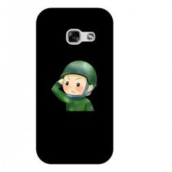 """Чехол для Samsung с принтом """"My defender-2"""""""