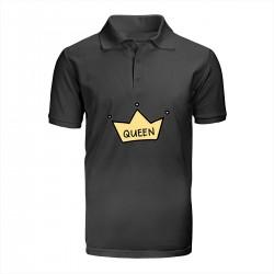"""Поло с принтом """"I am Queen-2"""""""