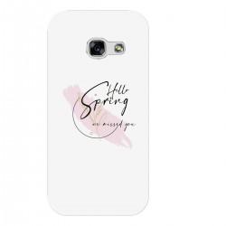 """Чехол для Samsung с принтом """"Hello spring - we missed you-3"""""""