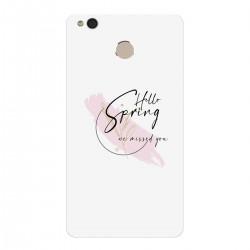 """Чехол для Xiaomi с принтом """"Hello spring - we missed you-3"""""""