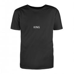 """Парные футболки с принтом """"Король и Королева"""""""
