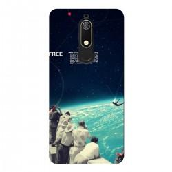 """Чехол для Nokia с принтом """"Free cosmos"""""""