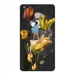 """Чехол для Xiaomi с принтом """"Девушка и Вселенная"""""""