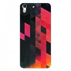 """Чехол для HUAWEI с принтом """"Разноцветные пиксели"""""""