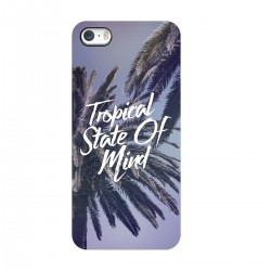 "Чехол для Apple iPhone с принтом ""Tropical State of mind"""