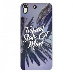 "Чехол для HUAWEI с принтом ""Tropical State of mind"""