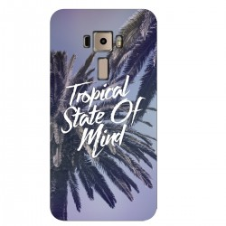 """Чехол для Asus с принтом """"Tropical State of mind"""""""