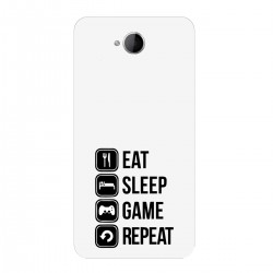 "Чехол для Microsoft с принтом ""Eat, sleep, game, repeat"""