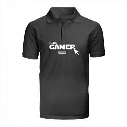 """Поло с принтом """"Gamer"""""""