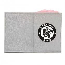 """Обложка на паспорт с принтом """"Пожарная охрана"""""""