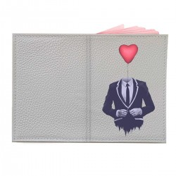 "Обложка на паспорт с принтом ""In love"""