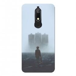 """Чехол для Nokia с принтом """"Мальчик в тумане"""""""