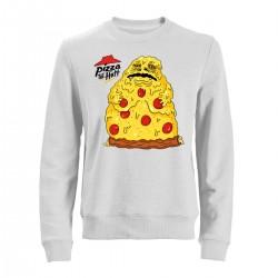 "Свитшот с принтом ""Pizza the Hutt"""