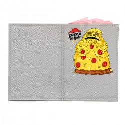 "Обложка на паспорт с принтом ""Pizza the Hutt"""
