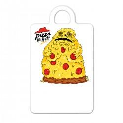 "Брелок с принтом ""Pizza the Hutt"""