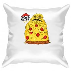 "Подушка с принтом ""Pizza the Hutt"""