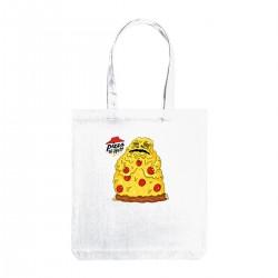 """Сумка холщовая с принтом """"Pizza the Hutt"""""""