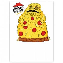 "Холст с принтом ""Pizza the Hutt"" (30x40 cм)"
