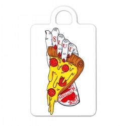"""Брелок с принтом """"Неприличная пицца"""""""