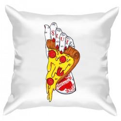 """Подушка с принтом """"Неприличная пицца"""""""
