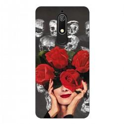 """Чехол для Nokia с принтом """"Алые розы"""""""