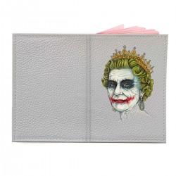 """Обложка на паспорт с принтом """"Ее Величество Джокер"""""""
