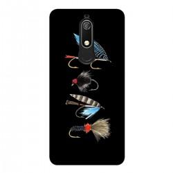 """Чехол для Nokia с принтом """"Рыболовные снасти"""""""