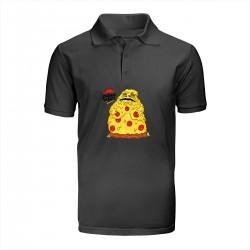 "Поло с принтом ""Pizza the Hutt"""