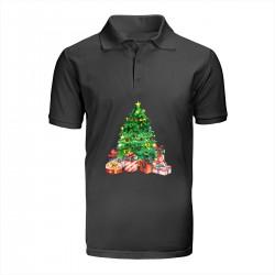 """Поло с принтом """"Christmas Spruce"""""""