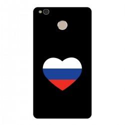 """Чехол для Xiaomi с принтом """"Сердце-триколор"""""""